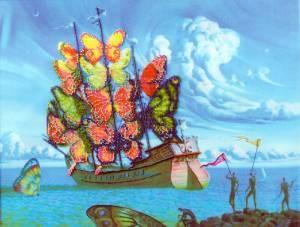 Изображение Отплытие корабля бабочек В.Куш