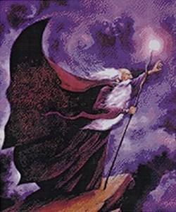 Изображение Волшебник - повелитель ветров (Wind Wizard- Series of 4 Elemental Wizards)