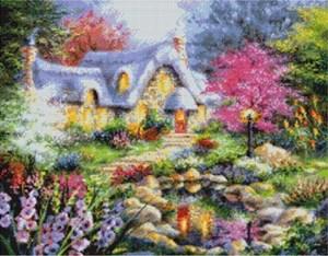 Изображение Домик у пруда (Cottage Pond)