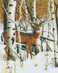 Изображение Настороже - олень (On the Lookout (Deer))