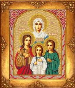 Изображение Икона Святая Вера, Надежда, Любовь и мать их София
