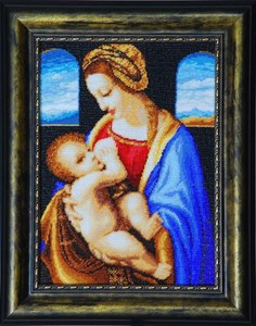 Изображение Мадонна Литта Леонардо да Винчи
