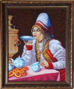 Изображение За чаем К.Е.Маковский