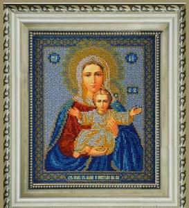 Изображение Икона Богородица Леушинская