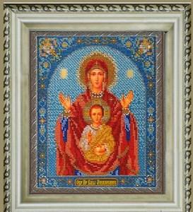 Изображение Икона Богородица Знамение