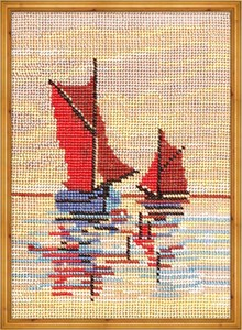 Изображение Лодки в море