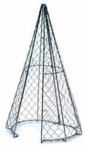 Изображение Каркас для фигурного кустарника -Конус 60 х 30см