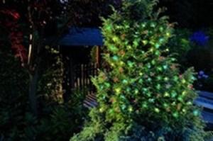 Изображение Гирлянда на солнечной батарее 50 LED цветная 8.35м. 3 функции