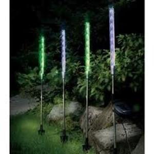 """Изображение Набор """"светящихся палочек"""" 72cm x 3.5cm 4шт на солн батареях"""