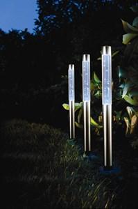Изображение Набор светильников на солн батареях  3 шт