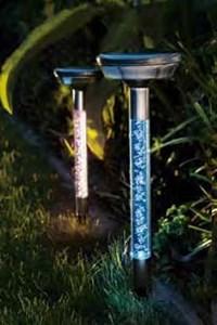 Изображение Набор светильников на солн батареях со сменой цвета 2 шт