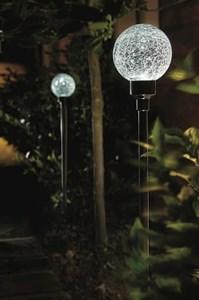 Изображение Набор светильников-шаров на солн батареях  2 шт