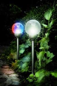 Изображение Светильник на солн батарее  Ice Orb 60cm x 12cm