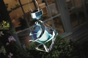 Изображение Светильник на солнечных батареях Galaxy Windspinner