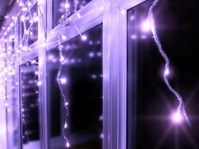 Изображение Гирлянда Cосульки  150 LED  Morphing  (модульная)