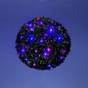 Изображение Новогодний шар-топиари 30см  20 LED. UK вилка с переходником, IP20 трансформатор