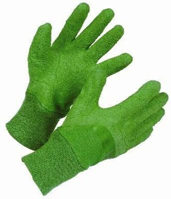 Изображение Перчатки женские защитные, хлопок, латекс. M