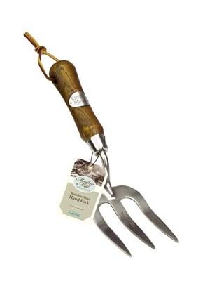 Изображение Вилка садовая Moulton Mill, нерж сталь, деревянная ручка