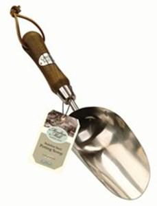 Изображение Черпак Moulton Mill, нерж сталь, деревянная ручка