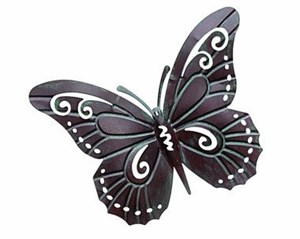 Изображение Декор настенный Бабочка винтаж