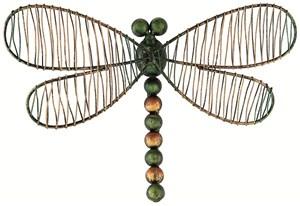 Изображение Декор настенный Изысканная стрекоза 30.5cm x 20cm