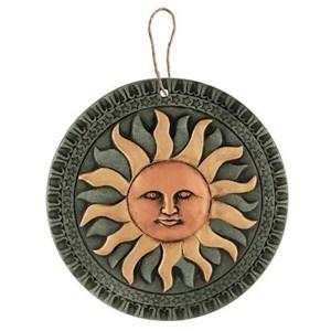 Изображение Декор настенный Солнце терракота 23cm