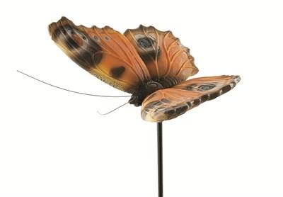Изображение Декор садовый Бабочка Peacock на стержне 100cm