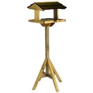Изображение Кормушка для птиц на подставке, разборная