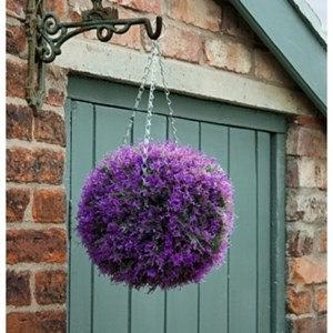 Изображение Искусственное растение Topiary Ball 30cm розовая лаванда