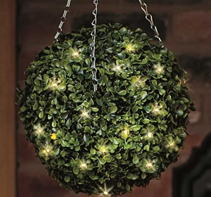 Изображение Искусственное растение Topiary Ball 40cm 30LED