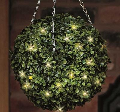 Изображение Искусственное растение Topiary Ball 40cm 30LED