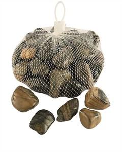 Изображение Камни декоративные в полоску 1kg