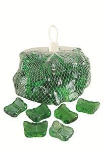 Изображение Камни декоративные стеклянные Butterflies 1kg