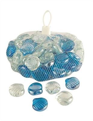 Изображение Камни декоративные стеклянные Shells 1kg