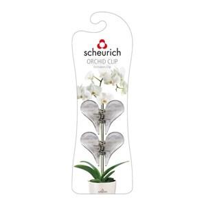 Изображение Клипсы для орхидей бесцветный 2шт пластик
