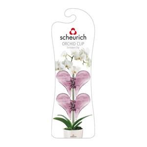Изображение Клипсы для орхидей розовый 2шт пластик