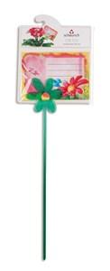 Изображение Палочка с зажимом для открытки Flower 28см пластик
