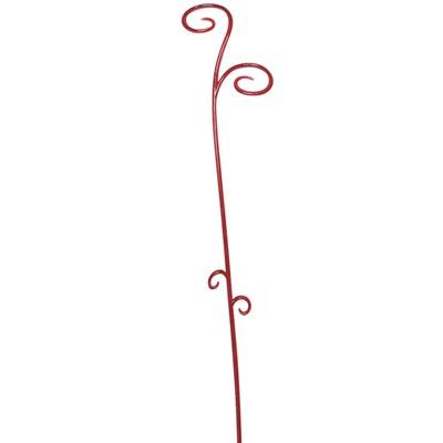 Изображение Палочка-поддержка красный 62см пластик