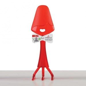 Изображение Совок-рыхлитель Sunnyboy красный 23см пластик