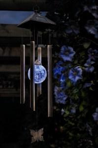 Изображение Светильник на солнечной батарее Мелодия ветра