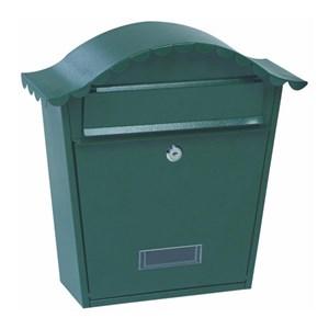 Изображение Почтовый ящик, сталь, зеленый