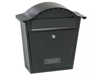 Изображение Почтовый ящик, сталь, черный