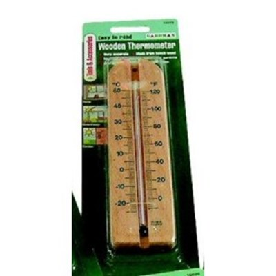 Изображение Термометр настенный 21 *4 см дерево