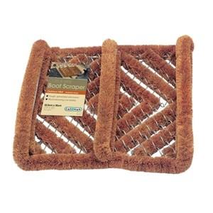 Изображение Скребок для чистки обуви  30 х 32 см, кокосовое волокно