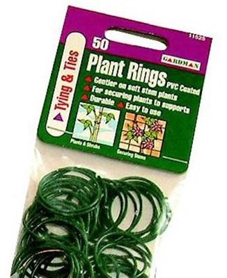 Изображение Кольца для подвязки растений 50шт