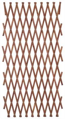 Изображение Решетка складная 1.8х0.3 кричневая, дерево