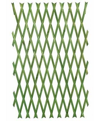 Изображение Решетка складная 1.8х0.9 зеленая, дерево