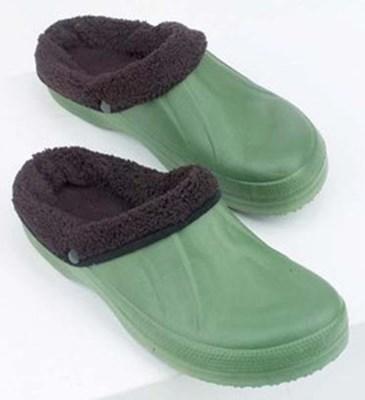 Изображение Туфли садовые резиновые со сменной шерстяной вставкой. Р-р 38