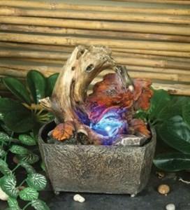 Изображение Фонтан декоративный Дерево 16 см с подсветкой