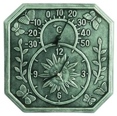 Изображение Часы с термометром Windsor  34*34см